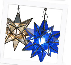 Authentic Mexican Hanging Stars