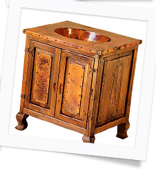 Copper Collection Bathroom Vanities