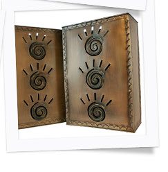 Mexican Tin Wall Sconces