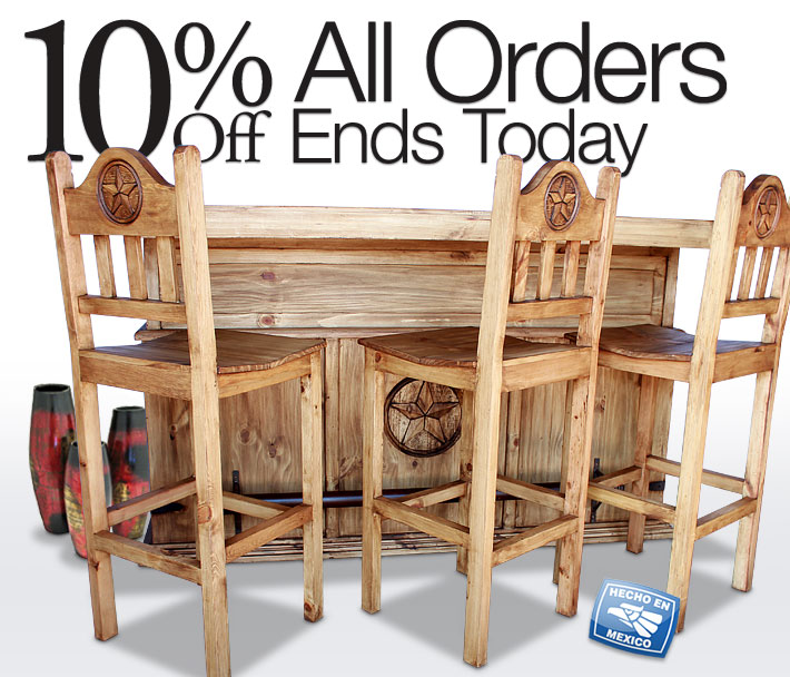 Ends Today: 10% Off All Orders