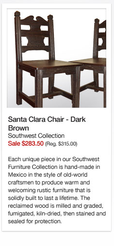 Southwest Collection Santa Clara Chairs