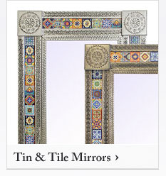 Mexican Tin and Tile Mirrors