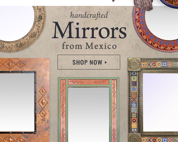 Handcrafted Mirrors from Mexico