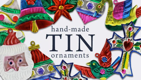 Tin Christmas Ornaments