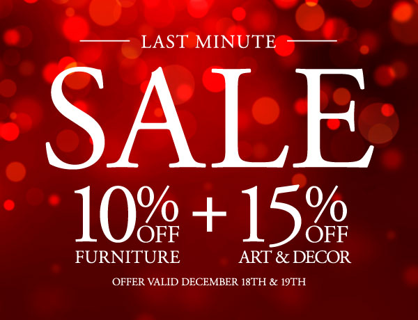 Last Minute Sale - Up to 15% OFF Site Wide & Get it by Christmas!