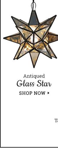 Antique Glass Star