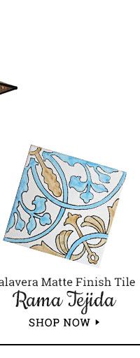 Talavera Matte Finish Tiles - Rama Tejida