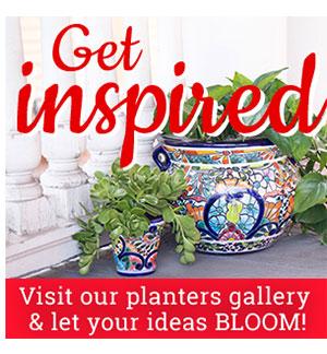 Talavera Planter Gallery
