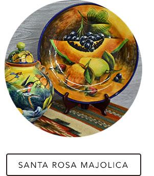 Santa Rosa Majolica