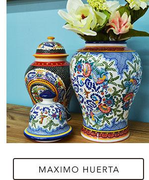 Jars and Vases by Maximo Huerta