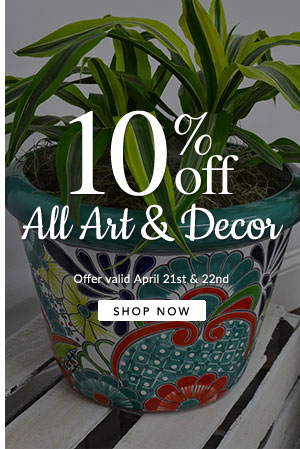 10% Off All Art and Decor