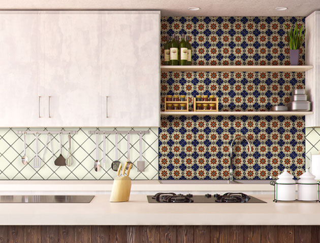 Spice Up Your Kitchen - Add a splash of color to your kitchen backsplash with our Talavera Tiles. These tiles will create a beautiful yet comfortable space for entertaining.