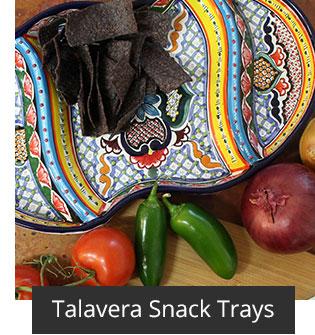 Talavera Snack Trays