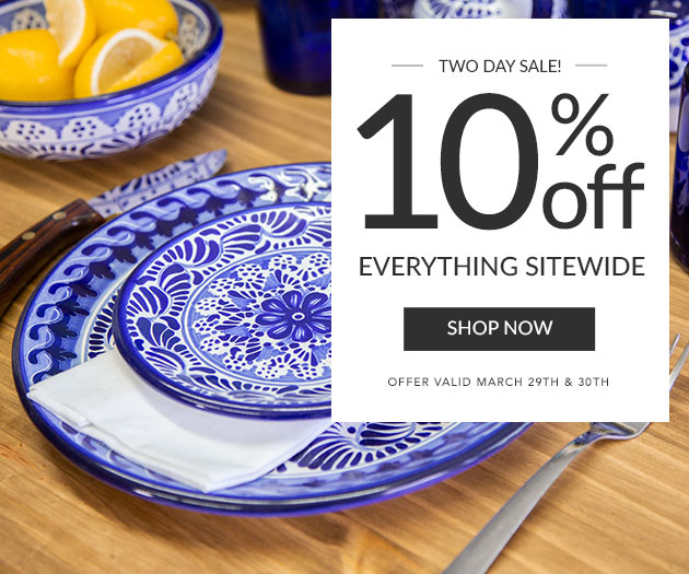Two Day Sale - 10% Off Everything Sitewide