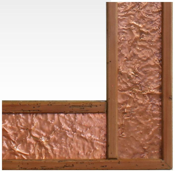 Wood Amp Metal Mirrors Martillo Copper Mirror Lr 6003