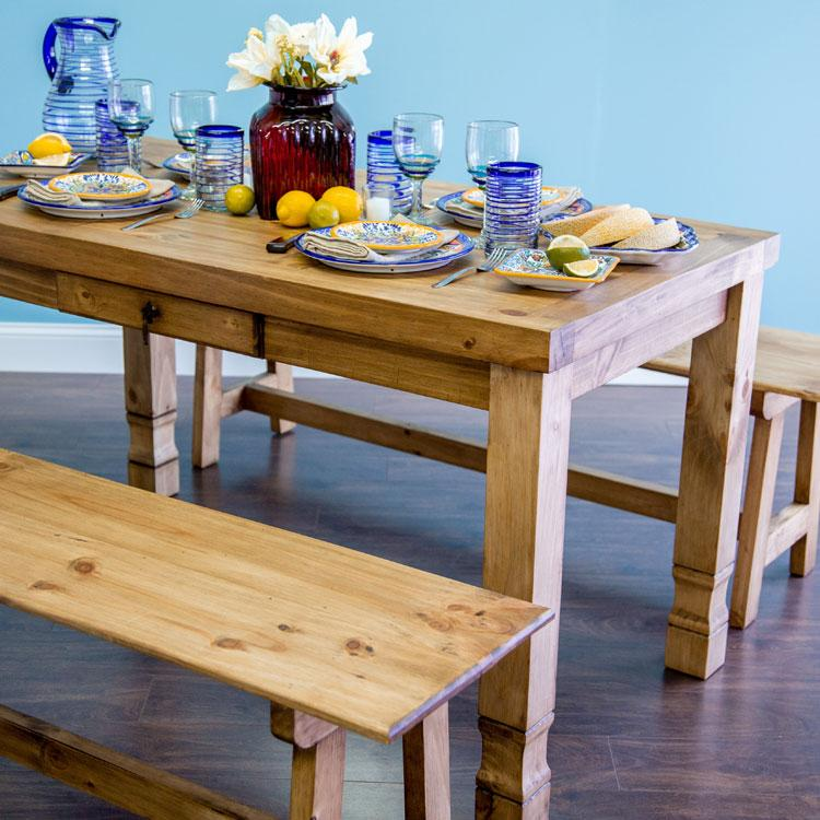 pine dining room table - knotty pine dining table for sale