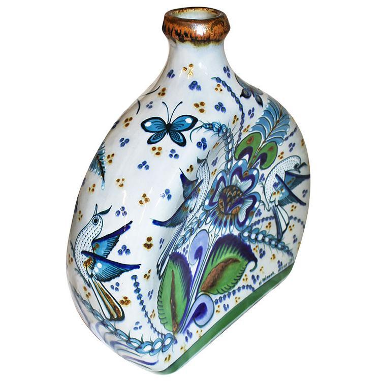 Decorative Pottery - Tonala Fino Horseshoe Vase - PAL15VS3