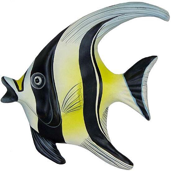 Small Paper Mache Banner Fish