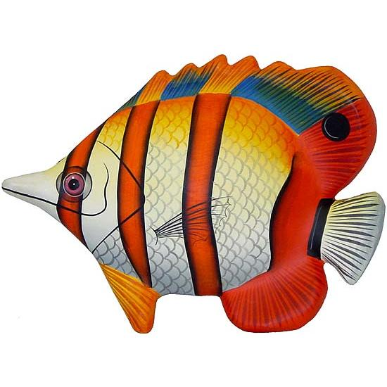 Large Paper Mache Butterfly Fish