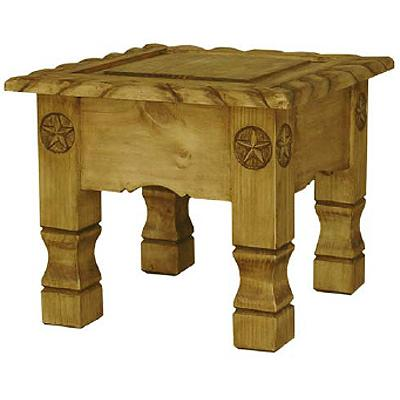 Pine End Table Product Photo