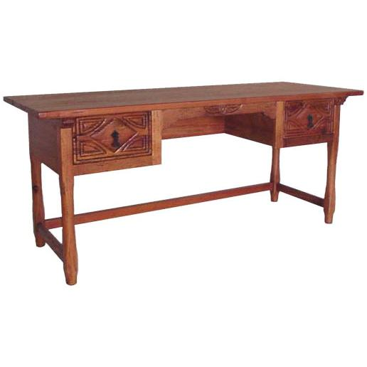 La Fuente Rustic Morisco Desk Natural