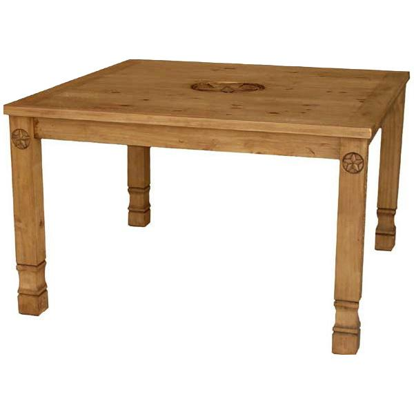 Pine Square Dining Table Product Photo