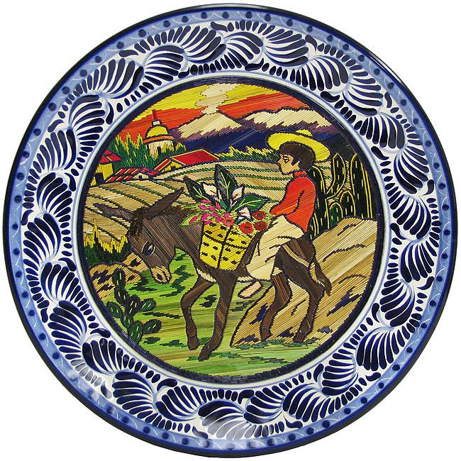 Popote & Talavera Plate