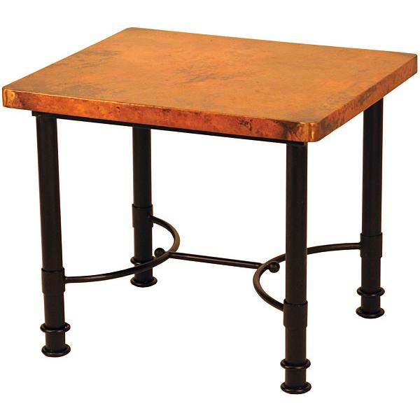 Small Copper End Table Product Photo