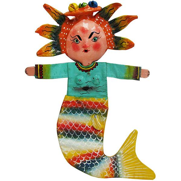 Mermaid Mask w/Fish Tail