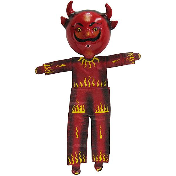 Devil Mask w/Flaming Body Coconut Mask