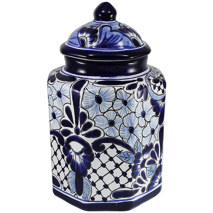 Large Talavera Kitchen Canister