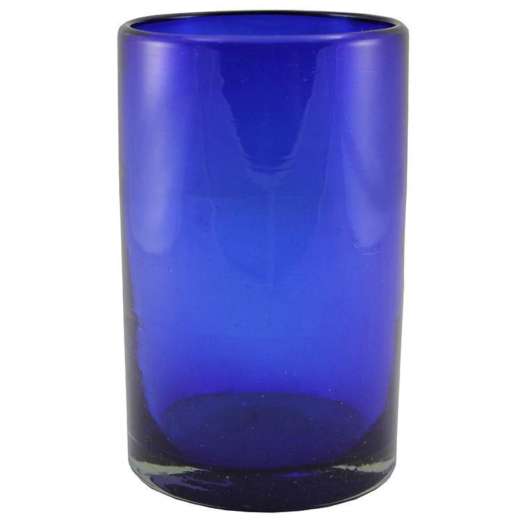 Water Glass - Cobalt Blue