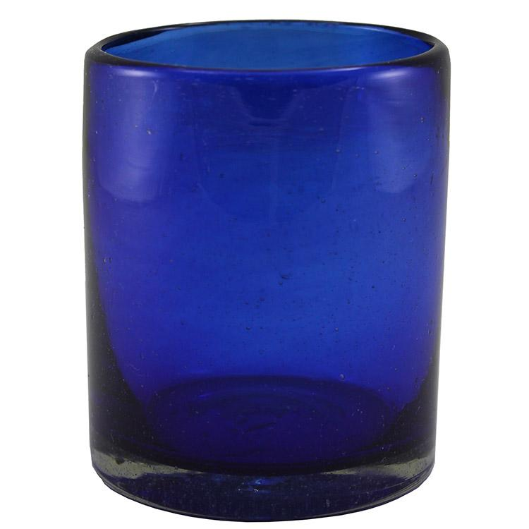Rocks Glass - Cobalt Blue