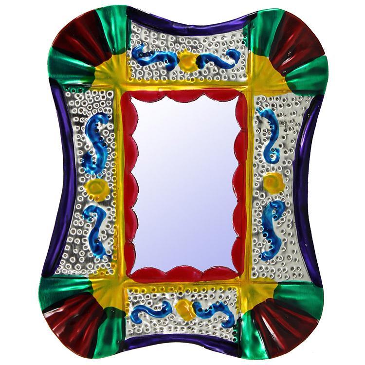 Mystery Mirror Tin Ornament