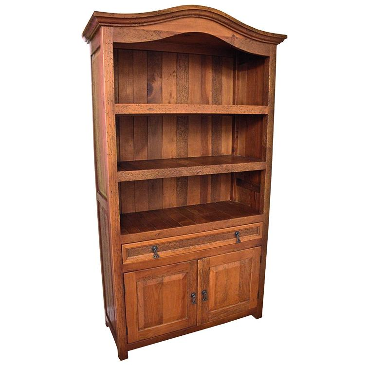 Rustic Bookcase Doors Light Brown Product Photo