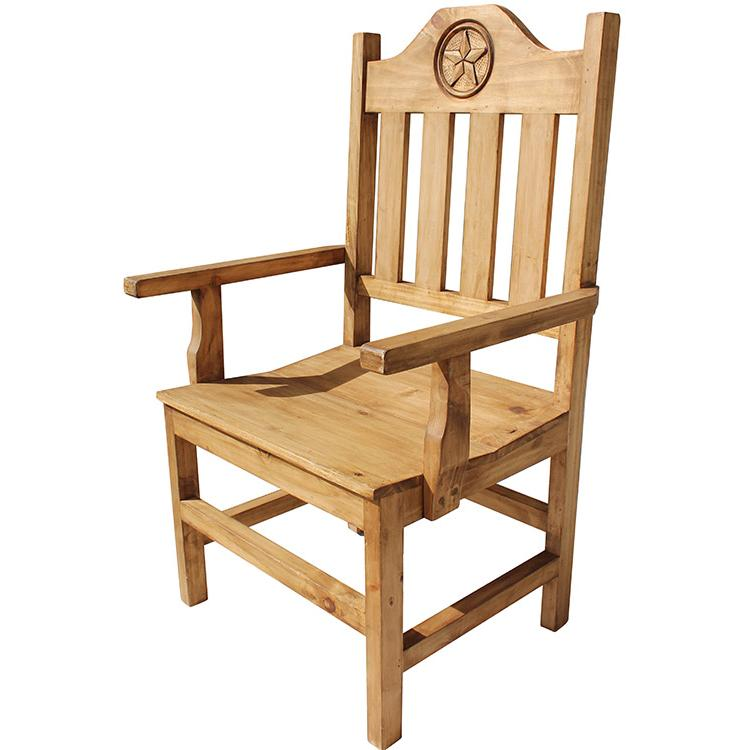 Pine Arm Chair Product Photo
