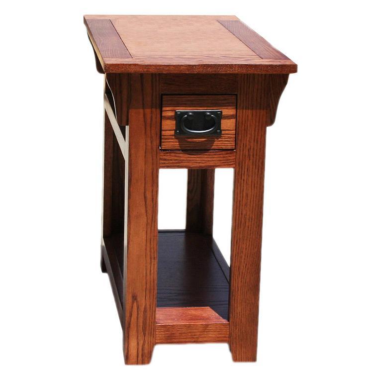Chair Side Table - Medium Finish
