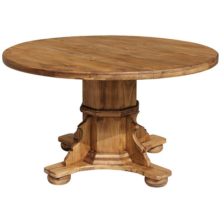 Rustic Pine Dining Table Product Photo