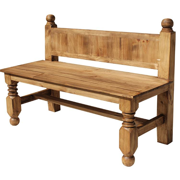 Rustic Pine Large Bench Product Photo