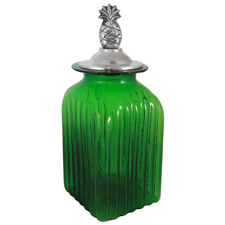 Blown Glass Canisters Collection - Pineapple Kitchen ...
