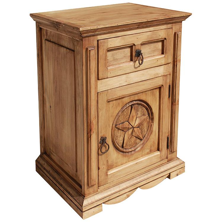 Pine Nightstand Door Right Product Photo