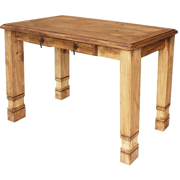 Mexican Rustic Pine Julio Console Table
