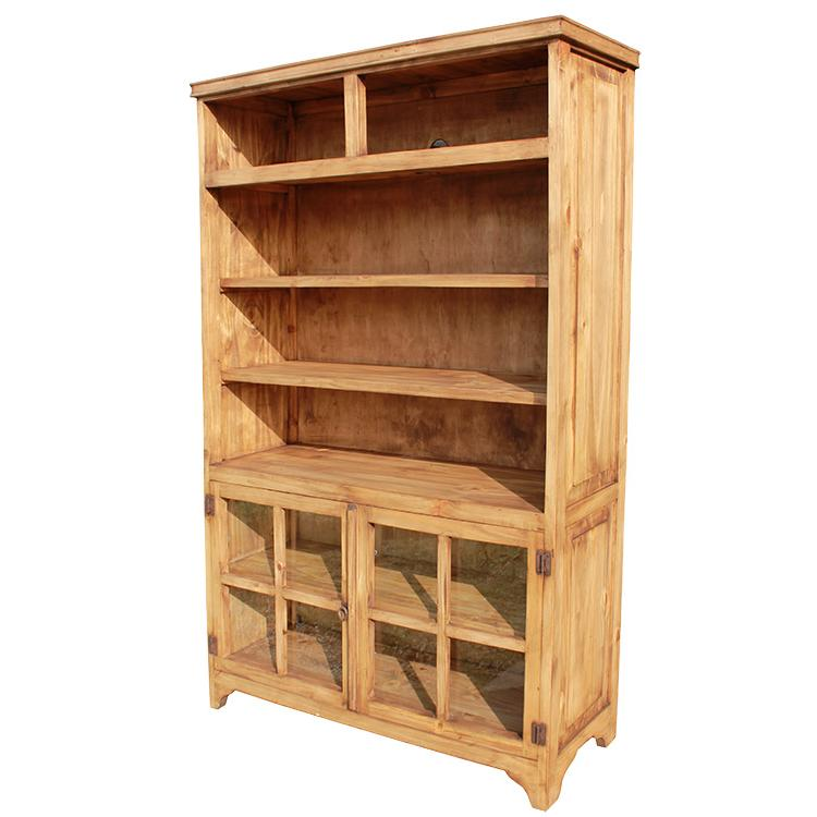 Rustic Pine Collection - Zago Bookcase - LIB09