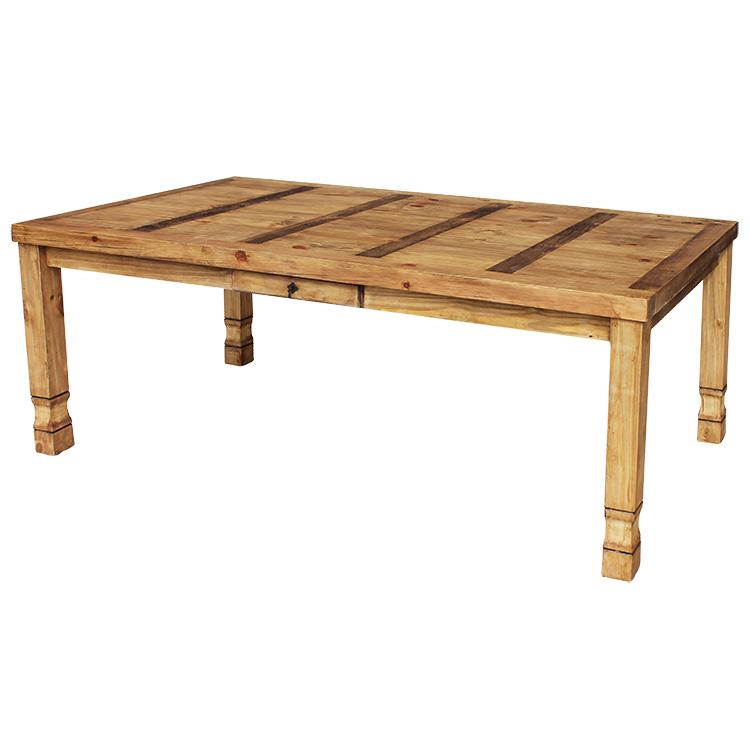 Rustic Pine Dining Table Extra Large Julio Mexican Rustic Pine Dining