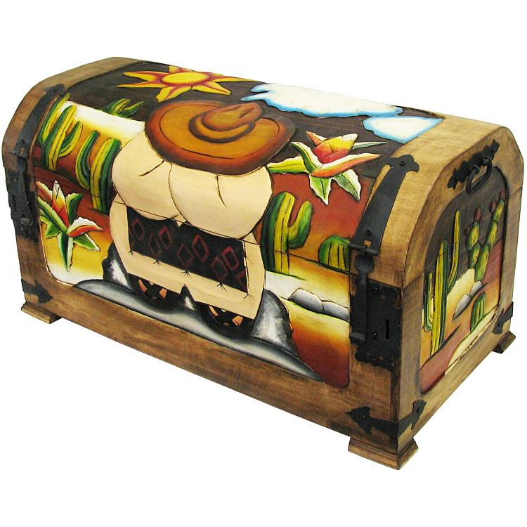 Rustic Carved Trunk Product Photo
