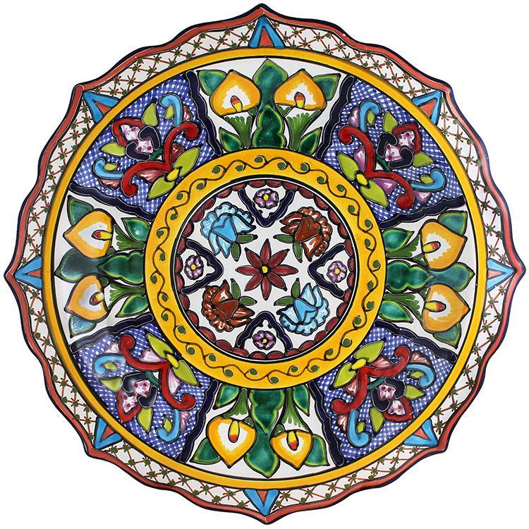 Talavera Star Platter