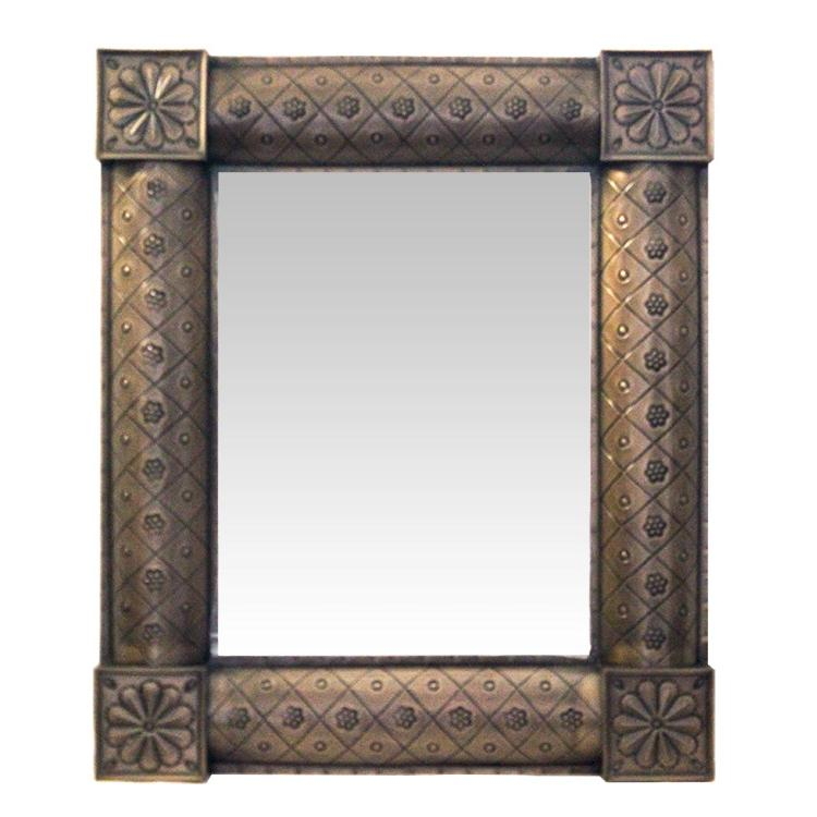 Tin Mirror Oxidized Product Photo