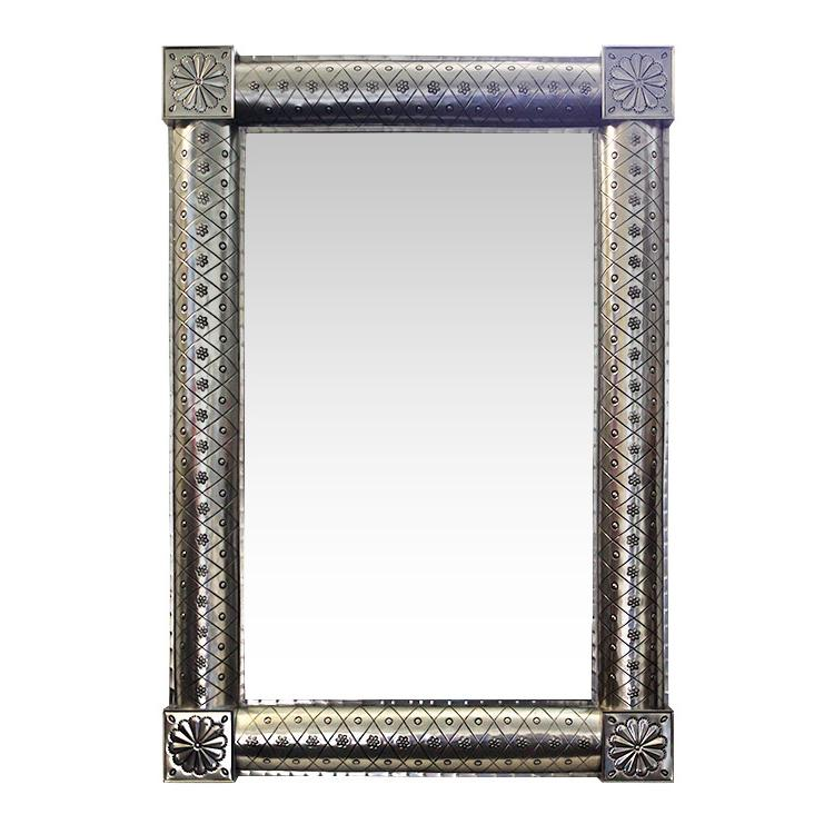 Tin Mirror Frame Natural Product Photo