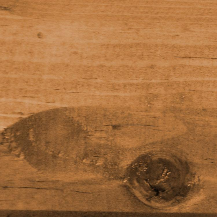 Pine Log Coffee Table Shelf Honey Product Photo