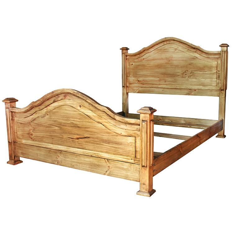 Pine Queen Bed Product Photo